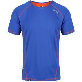 Regatta Virda II T-Shirt Men Surf Spray/Blaze Orange